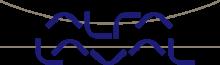logotyp firma Alfa laval