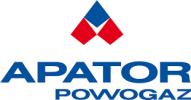 logotyp firma Apator powogaz