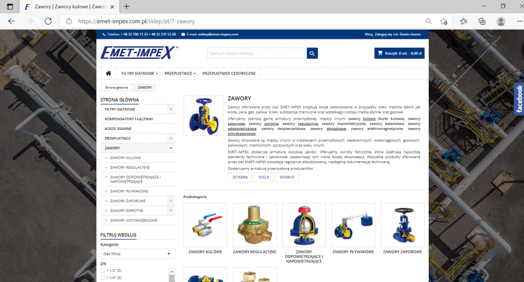 Sklep internetowy EMET-IMPEX